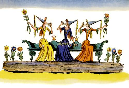 Английские песенки: Маленькие феи