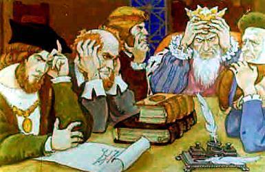 король и придворные совет как прогнать Морского Змея
