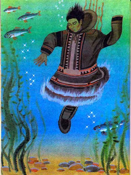 Баручику под водой упал в воду