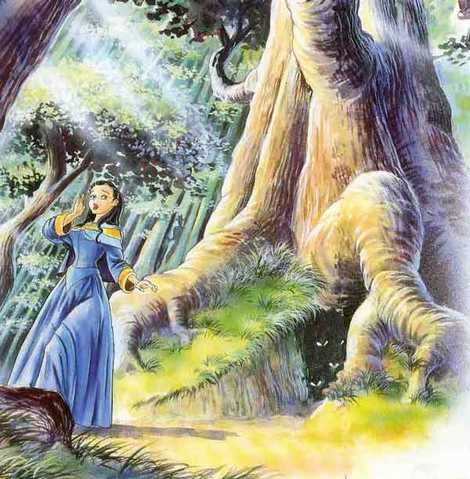 Белоснежка в дремучем лесу