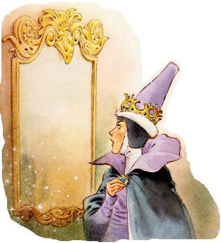 королева и зеркало