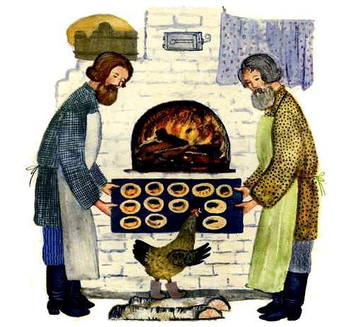 курочка и пекари