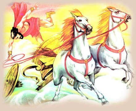 Фаэтон падает с колесницы