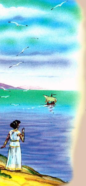 Алкиона на берегу