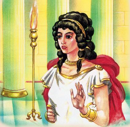 Жена Пирифоя, прекрасная Гипподамия