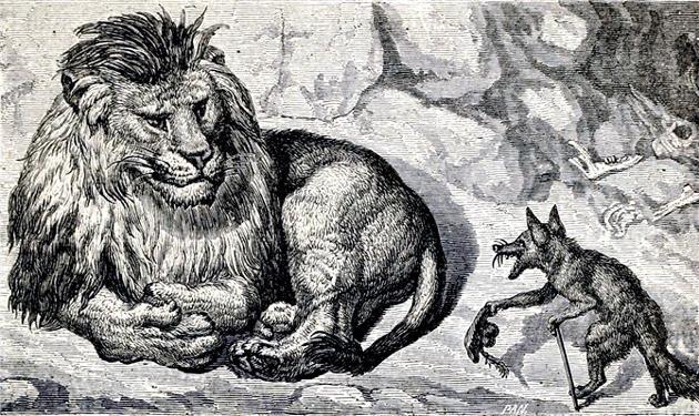 Больной лев