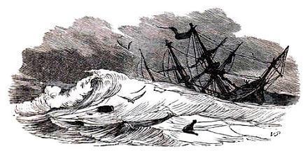 буря кораблекрушение