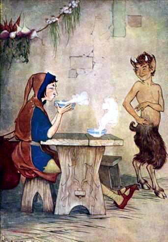 Человек и Сатир