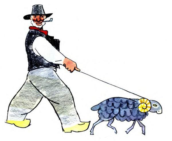 Эй ты, хочешь сменять овцу на корову