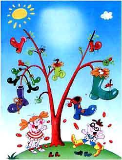 И вырастет дерево, Чудесное дерево!