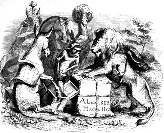 Дань зверей Александру