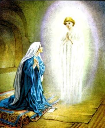 Благовещение о рождении Иисуса.