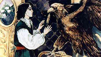 юноша и орел