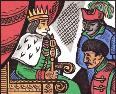 Двое разбойников и король