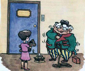 Дядюшка Фистус и девочка