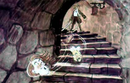 Джек - победитель великанов отрубил головы великанам