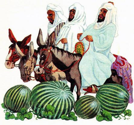 Джиха и три благородных путника