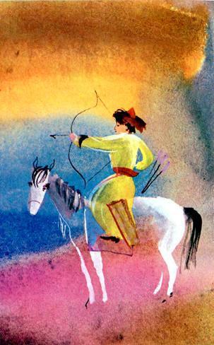 Енисей и шаман