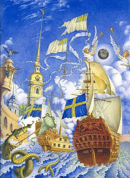шведские корабли