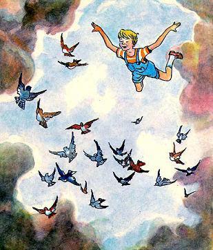 Стасик летает в небе