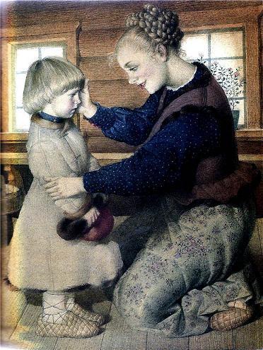 Филипок и его мама
