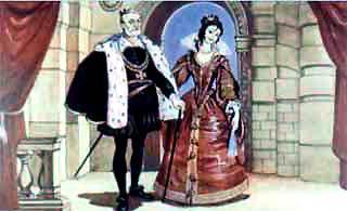 король и его дочь принцесса