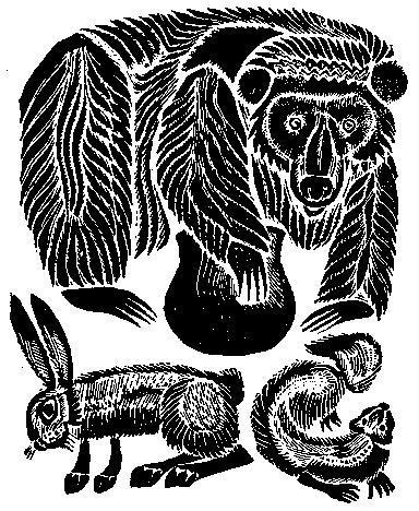 Горностай и заяц (алтайская сказка)
