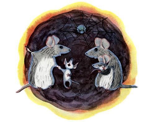 Говорила мышка мышке…