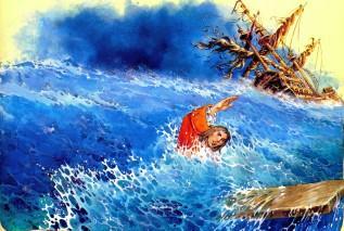 Гулливер в море крушение корабля