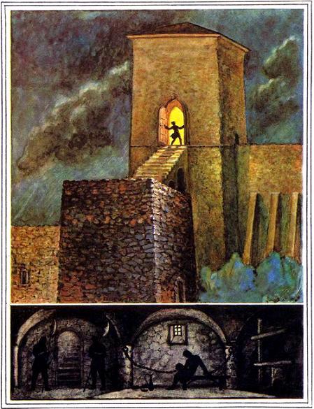 башня и подземелье