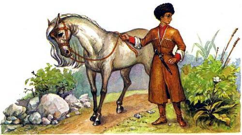 джигит Хасан и конь