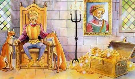 Храбрый портняжка и награда короля сундук золота