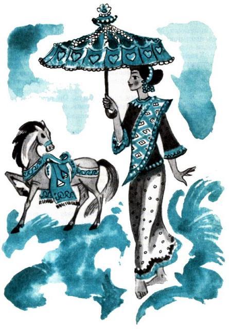 Принцесса видит коня