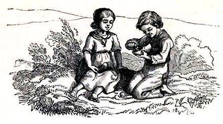 Иб и Христиночка две девочки