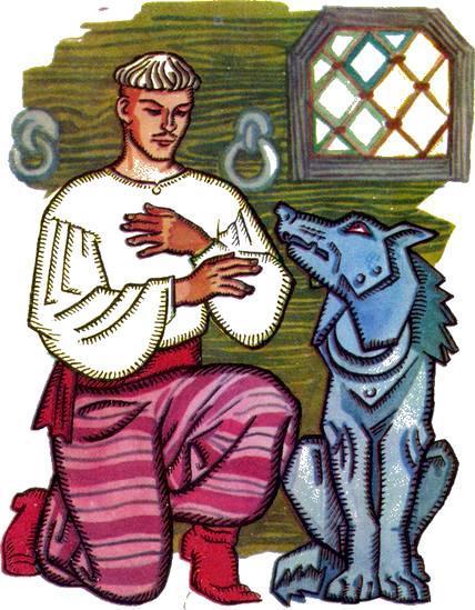 Иван-царевич и железный волк