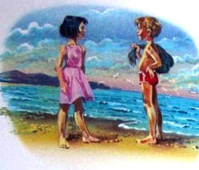 Как Алиса в море побывала