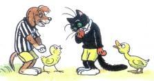 кот пес цыпленок и утенок расстройство