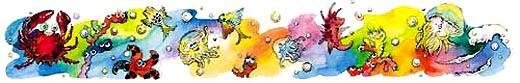 Как на свете появились летающие рыбки