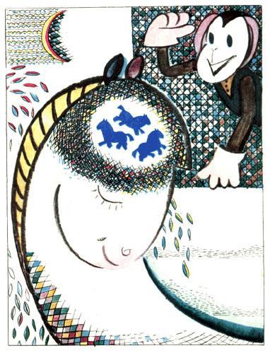обезьянка и лошадка