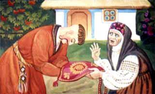 Казак Мамарыга поблагодорил старушку