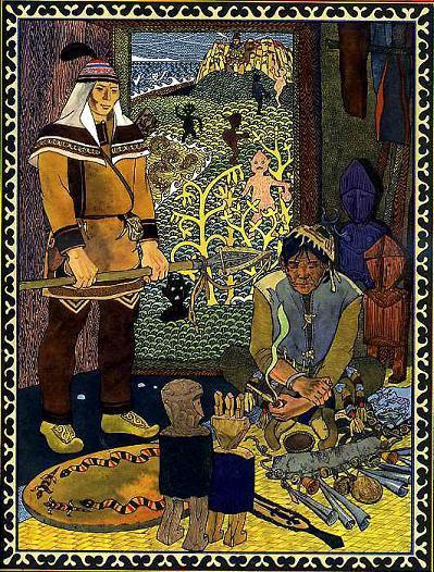 Киле Бамба и Лоче-богатырь