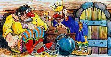 Ванька-Каин в остроге пришел царь