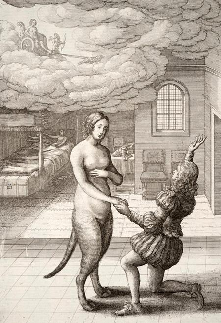 Кошка превращенная в женщину