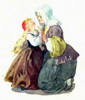бабушка и Красная шапочка
