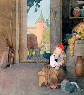 Красная шапочка с куклой