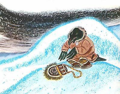 ворон уселся метель сугробы снегопад вьюга
