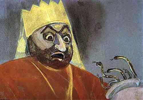 царь и Кувшин со змеями