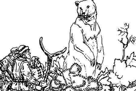 Легенда о Белозерском медвежьем князе