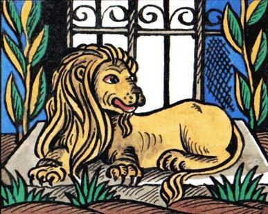 Лев даривший золото