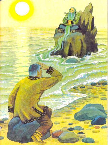 охотник на берегу